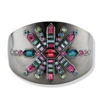gemstone-bracelet-cirque-Jane-Taylor-cuff-bracelet-Burst-rhodolite-garnet-ruby-aquamarine-green-tourm-indicolite-purple